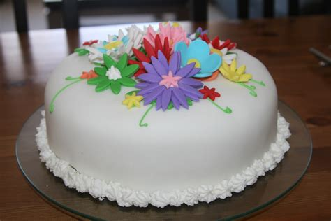 How To Decorate Your Home On A Budget by For The Fun Of Cooking Flower Birthday Cake