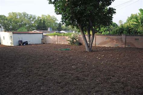 backyard mulch robyn s organic garden