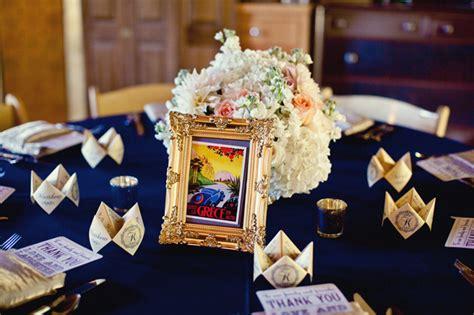 blush pink amp navy vintage chic wedding every last detail