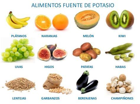 alimentos alto contenido en calcio se recomienda en la dieta m 225 s potasio y menos sodio