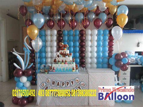 Harga Balon Gas Ultah by Dekorasi Balon Backdrop Ulang Tahun Di Apartemen Ambasador