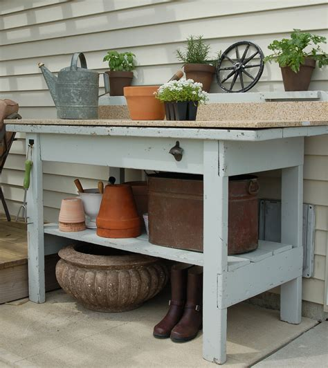 potting benches uk potting table design liberty interior attractive