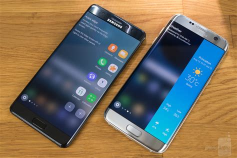 samsung edge 7 samsung galaxy note 7 or edge 7 which one to buy