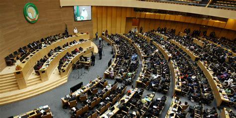 union africaine si鑒e la suspension du polisario de l ua ou la r 232 gle des deux tiers