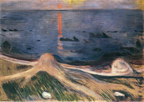 edvard munch the mystery of a summer night edvard munch biblioklept