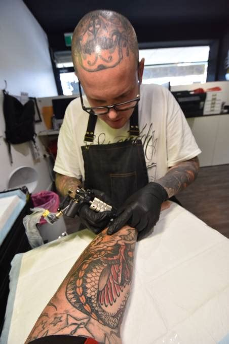 tattoo nation in port macquarie delve into the world of a modern day tattoo artist video