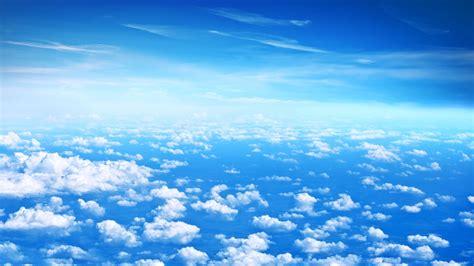 papier peint arbre 3738 fonds d 233 cran beaux nuages ciel bleu nuages blancs