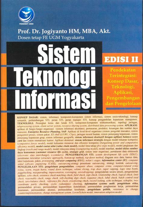 Sistem Informasi Konsep Teknologi Manajemen Soendoro Limi sekolah tinggi multi media