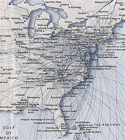 usair route map us airways reviews routes schedules analysis