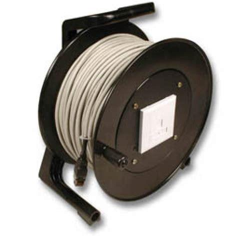 Kabel Lan 50 Meter utp netwerk kabel op haspel 50meter cat5e camerabewaking bewakingscamera specialist