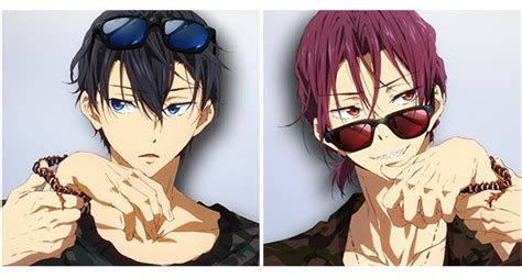 Free! Eternal Summer Haruka and Rin Characters Mook ? White Rabbit Express