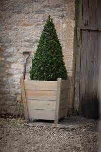 Designed especially for the garden our tapered wooden planters will