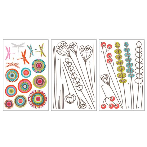 transfer stickers for walls garden transfer wall decals rosenberryrooms