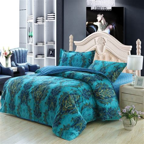 blue paisley comforter sets extraordinary blue paisley bedding for ordinary bedroom