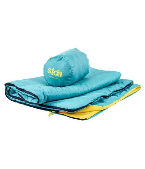 comforter sleeping bag stoa paris blue yellow sleeping bags and comforter
