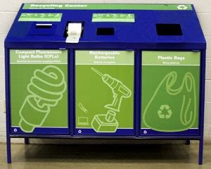lowes installs collection centers  stores recycling today