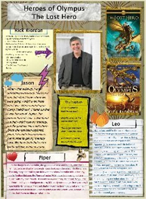 the lost book report heroes of olympus the lost book report glogster