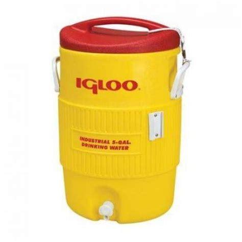 Water Dispenser Igloo opentip igloo msiglo5x 5 gallon igloo water cooler yellow 5 gal only