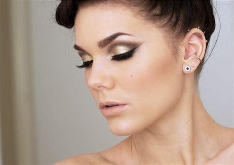 eyeliner tutorial lisa eldridge golden smokey eye makeup tutorial by lisa eldridge fab