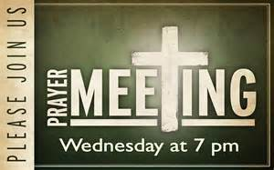 wednesday night prayer meeting new life church web site