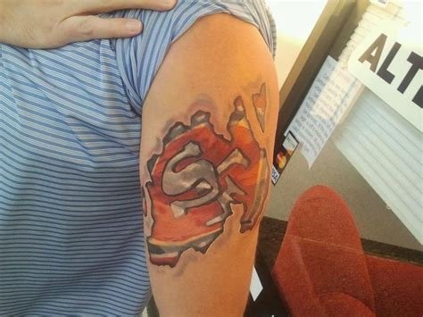 49ers tattoo inked bad 49ers sanfrancisco sanfrancisco