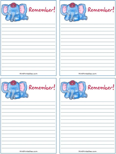 printable birthday party reminder cards printable reminder lists cool free printable