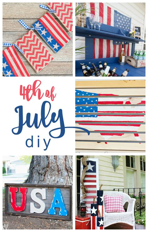 fourth of july diy diy 4th of july projects link cherished bliss