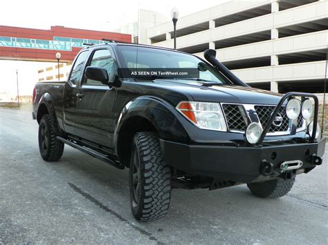 nissan pickup 4x4 lifted nismo off road 4x4 crew cab autos post
