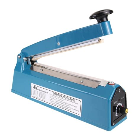 Impulse Sealer Leopard 30 Cm Pvc 1pcs heat sealing impulse manual sealer machine poly tubing plastic bag manual heat sealing