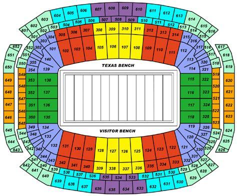 stadium seating chart reliant stadium tickets reliant stadium houston tickets