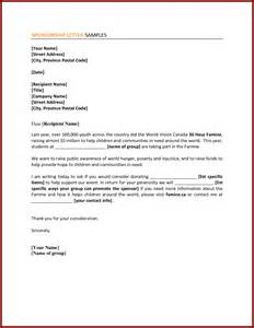 Corporate Sponsorship Outline by Doc 600730 Corporate Sponsorship Letter Template