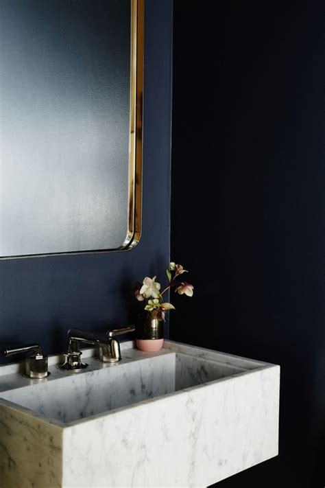 best blue paint color for bathroom best bathroom paint colors popsugar home