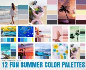summer colors summer color palettes 12 inspiring color combinations