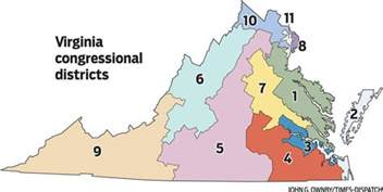 Virginia Senate District Map by Republicans Still Have A Chance To Pass A Plan The Bull