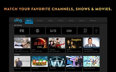 Sling Tv Gift Card - amazon com sling tv live and on demand appstore for android