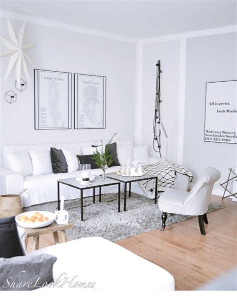 schwarz weiß wohnzimmer ideen weihnachtsdeko im wohnzimmer so sieht es gerade bei