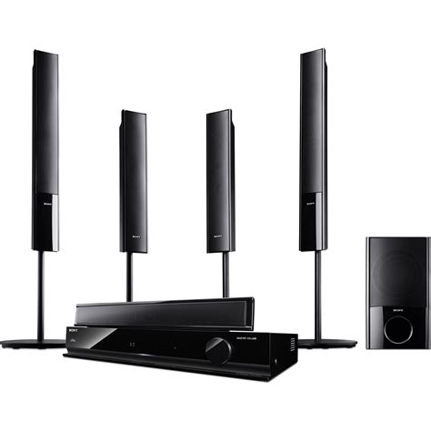 sony ht sf470 5 1 channel surround sound system htsf470 b h