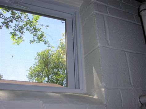 replace window in basement with block construction rebrn com