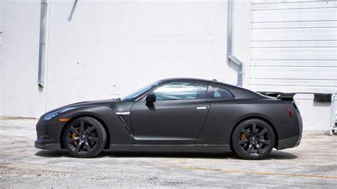 nissan gtr matte black and boca raton florida nissan gtr matte black vinyl car