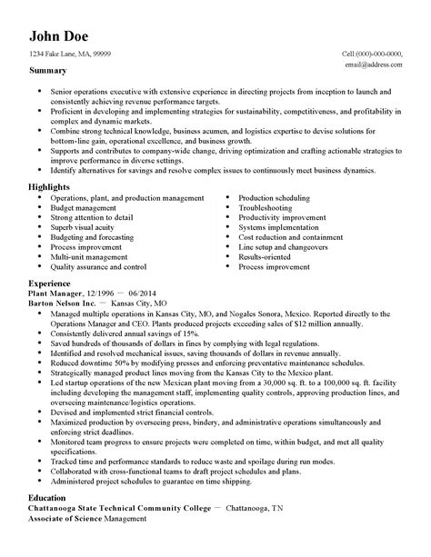 production resume sample sradd me