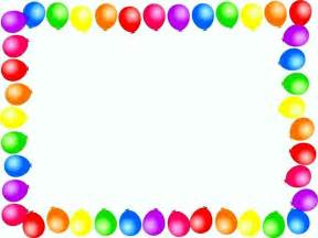 balloon border template free balloon border template template update234