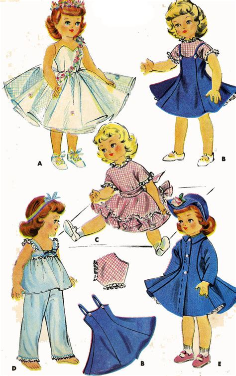 pattern for doll clothes 15 inch old doll clothes pattern for 14 15 inch sweet sue or toni by