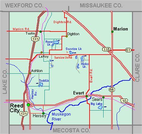 Osceola County Property Records Osceola County Mi Map Images