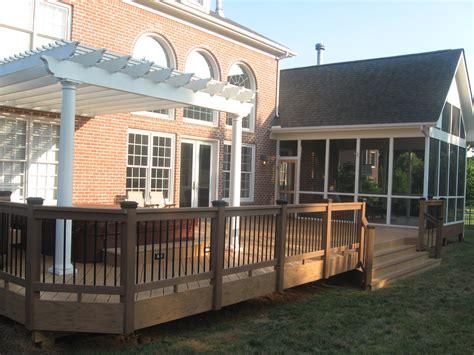 sunrooms screen porches decks pergolas patio covers covered patio archadeck of charlotte