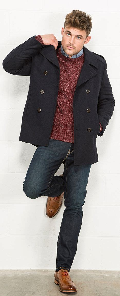 Style Ideas How To Wear Menswear Herringbone Second City Style Fashion by Best 25 Mens Peacoat Ideas On Mens Peacoat