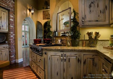 Country Cabinets For Kitchen | french country kitchens photo gallery and design ideas