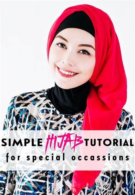 tutorial turban formal 17 best images about hijab on pinterest simple hijab