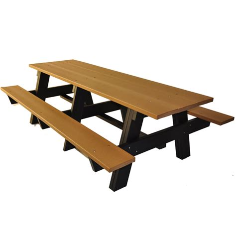 a frame recycled plastic picnic tables schoolsin