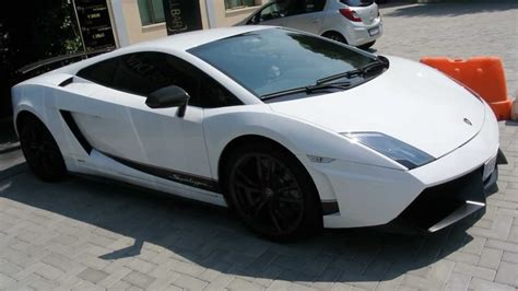 Lamborghini Gallardo White White Lamborghini Gallardo Superleggera Start Up