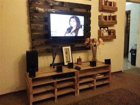 Who Created The Of The Cabinet by Wall Unit Tv Cabinet Made From Pallets Style
